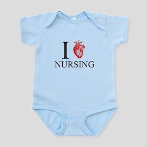 I Heart Nursing Body Suit