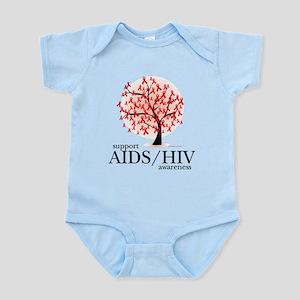 AIDS/HIV Tree Infant Bodysuit