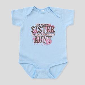 Promoted Aunt Infant Bodysuit