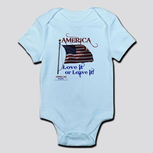 America Love It or Leave it Infant Bodysuit