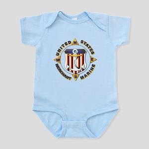 Emblem - US Merchant Marine Infant Bodysuit