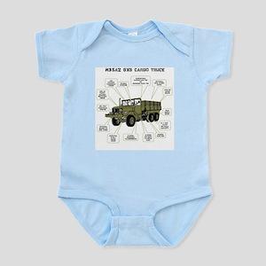 M35A2 Cargo Truck Infant Bodysuit