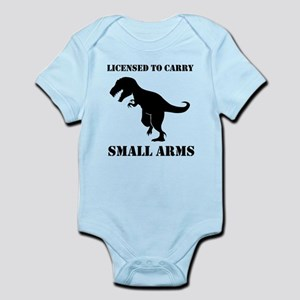 Licensed To Carry Small Arms T-rex Dinosaur Body S
