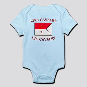 2nd Squadron 1st Cavalry Infant Bodysuit
