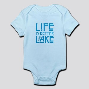 Life is Better at the Lake Body Suit
