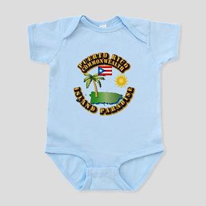 Puerto Rico - Island Paradise Infant Bodysuit