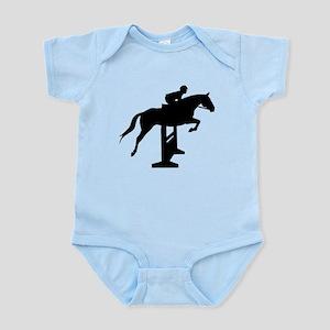 Hunter Jumper Over Fences Infant Bodysuit