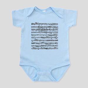 Music notes Infant Bodysuit