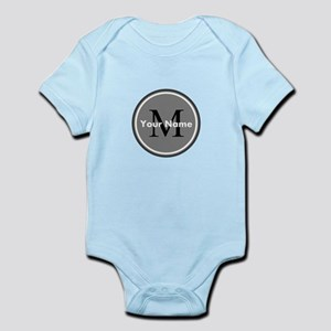 Custom Initial And Name Body Suit