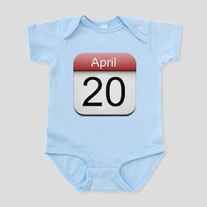 4:20 Date Infant Bodysuit