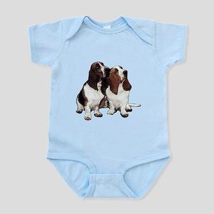 Basset Hounds Infant Bodysuit