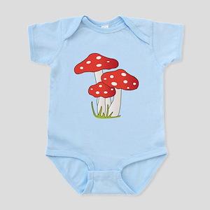 Polka Dot Mushrooms Body Suit