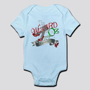 75th Anniversary Wizard of Oz Red Shoes Infant Bod