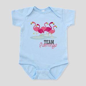 Team Flamingo Infant Bodysuit