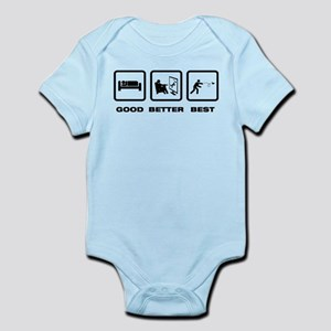 Paper Airplane Infant Bodysuit