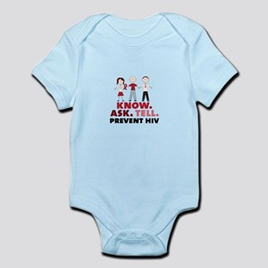 Know.Ask.Tell.Prevent HIV Body Suit