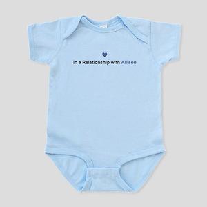 Allison Relationship Infant Bodysuit