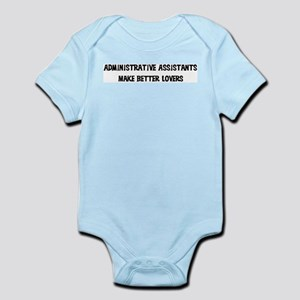 Administrative Assistants: Be Infant Creeper