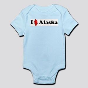 Alaska Firefigher Infant Creeper