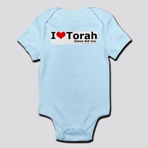 I Love Torah - Jesus Did Too Infant Creeper