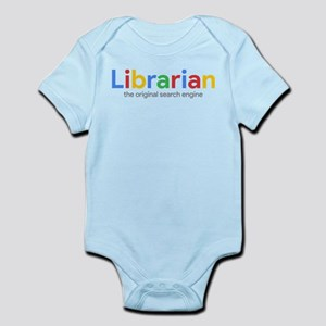 Librarian The Original Search Baby Light Bodysuit