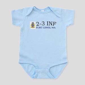 2nd Bn 3rd Infantry Regiment Infant Bodysuit