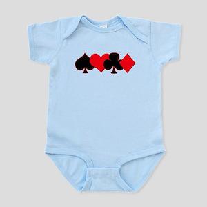 Card Suits Infant Bodysuit