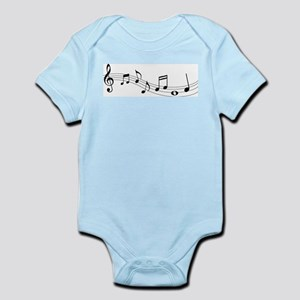 Music Notes Body Suit