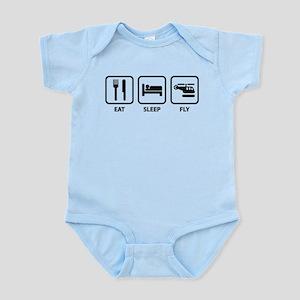 Eat Sleep Fly Infant Bodysuit