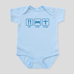 Eat Sleep Flying Infant Bodysuit