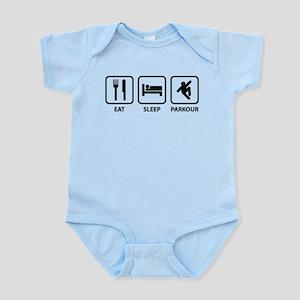 Eat Sleep Parkour Infant Bodysuit