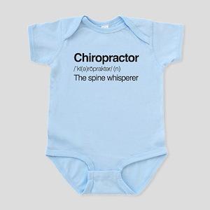 Chiropractor The Spine Whisper Baby Light Bodysuit