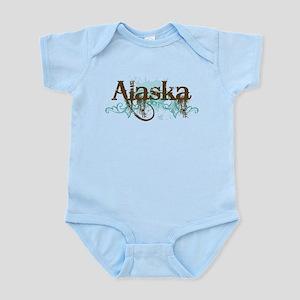 ALASKA grunge Infant Bodysuit