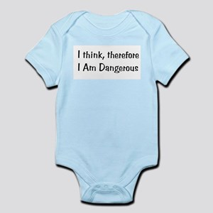 Think Therefore Dangerous Body Suit
