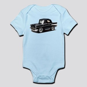 BabyAmericanMuscleCar_57BelR_Black Body Suit
