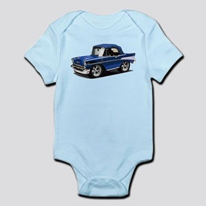 BabyAmericanMuscleCar_57BelR_Blue Body Suit
