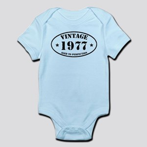 Vintage Aged to Perfection 1977 Body Suit
