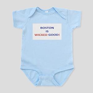 BOSTON IS WICKED GOOD! Infant Bodysuit