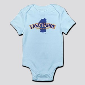 Lake Tahoe with map coordinates Body Suit