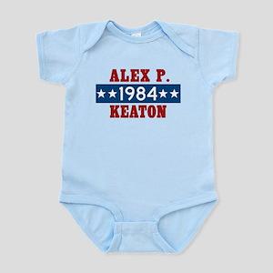 Vote Alex P Keaton 1984 Infant Bodysuit