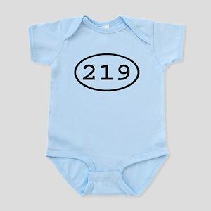 219 Oval Infant Bodysuit
