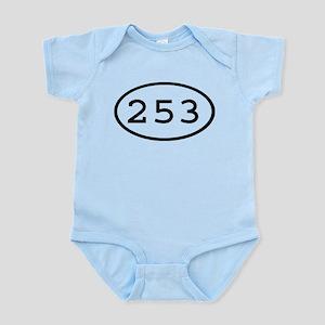 253 Oval Infant Bodysuit