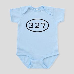 327 Oval Infant Bodysuit