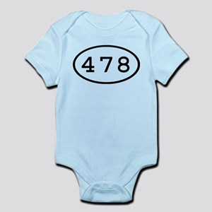 478 Oval Infant Bodysuit