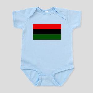 Red Black and Green Flag Infant Bodysuit