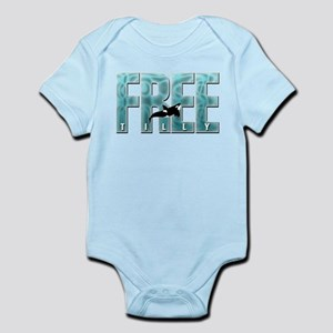 Free Tilly Sea Blue Body Suit