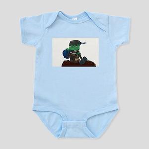 Chibi Ork Pot Head Infant Bodysuit