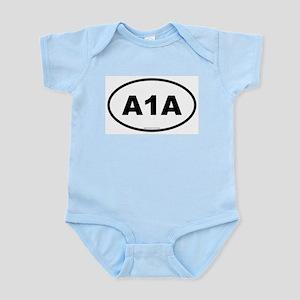 Florida A1A Infant Creeper