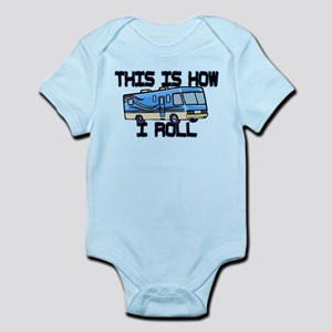 How I Roll RV Infant Bodysuit