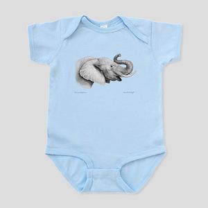 Lucky Elephant ~ Infant Bodysuit